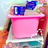 MY SUPPLY BUCKET AND KANDI BOX
