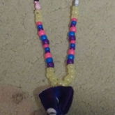 Kandi candy plush necklace