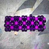 Purple X-base Cuff