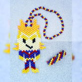 All Might Kandi Necklace