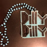 Dilly Dilly Perler Necklace