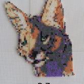 Katze Mini Hama Beads