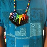 Rainbow Melting Necklace
