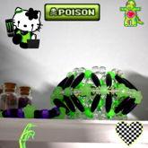 Neon Green UFO Cuff