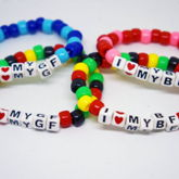 I Love My Boyfriend/Girlfriend Bracelet Sets