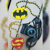 Batman And Superman Necklaces