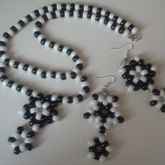 Star Earrings And Necklace