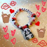 Panda Express Kandi Bracelet