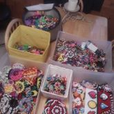 All Of My Kandi In One Picture X3 ~old Photo~