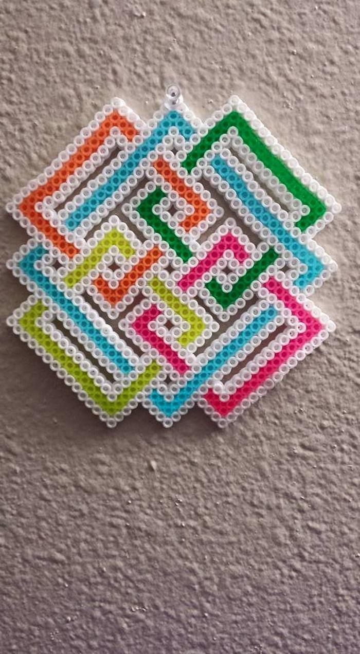 Trippy Knots Perler By Ladyraveicorn Kandi Photos On