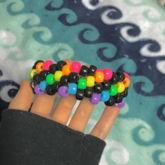 Mini Rainbow Cuff :3