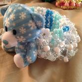 Winter Snow Bear 3D Cuff