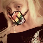 Rainbow Crosses Mask