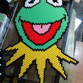 Kermit The Frog [Peyote Stitch]