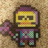 Skeletor Perler Bead