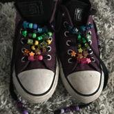 Beaded My Shoelaces!