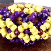 Yellow A Purple Cage Cuff