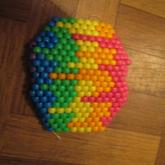 Melted Rainbow Mask