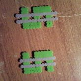 Perler Bead Dollar Sign