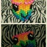 Rainbow Drip Face