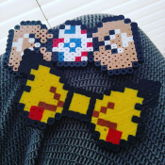 Togepi And Pikachu Bows