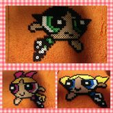 Power Puff Girls Perler
