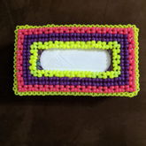Rectangle Tissue Box Cover (top View)