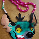Bass Head Ed Perler Necklace