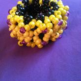 Black Yellow And Purple X Base 3d Type Thing