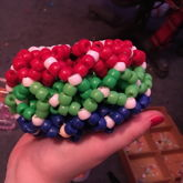 Red Green Blue Cuff