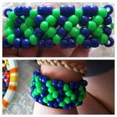 Chevron (or Whatever) X-base Cuff