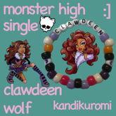 Clawdeen Wolf Monster High Single