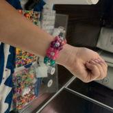 Candy Colored Flower Kandi