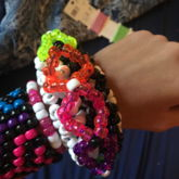 Rainbow 3 Layer 3D Cuff!!!! (Pic 1)