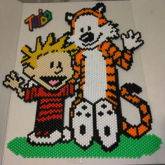 Calvin And Hobbes (peyote Stitch)