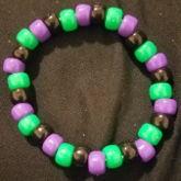 Black, Green, And Purple Single