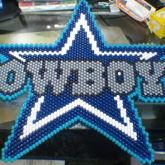 Dallas Cowboys Logo [Peyote Stitch]