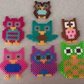 Owls Perlers