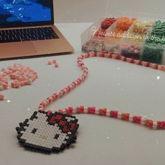 Hello Kitty Kandi Necklace!