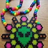 Alien Starburst Necklace