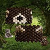 Bear Cuff (Pattern By SnickerPoodle)