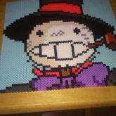 Howls Moving Castle Turnip Head Perler