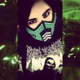 Reptile Kandi Mask