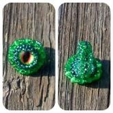 Green Dragon Eye Ring