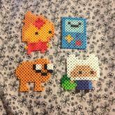 Adventure Time Perlers 4