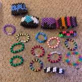 My Small Kandi Collection! XP