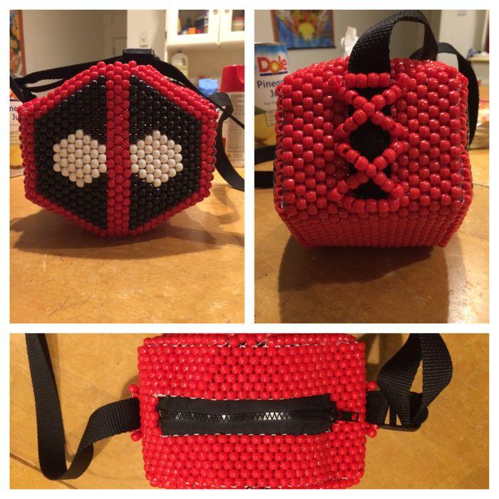 Deadpool Bag By Skullybaby Kandi Photos On Kandi Patterns
