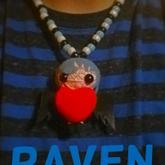 Kandi Raven Vodo Doll Necklace