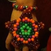Green Purple Pink Orange Hand Bracelet