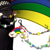 Rainbow Pants Chain